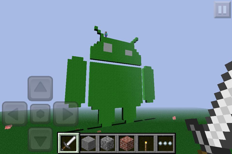 Скачать Игру На Андроид Minecraft Pocket Edition 0.4.0